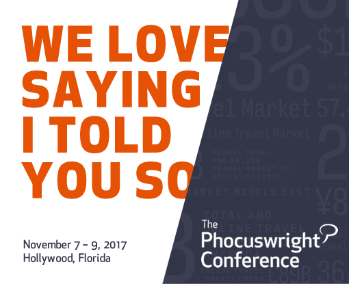 The Phocuswright Conference - November 7-9, Ft. Lauderdale/Hollywood, Florida