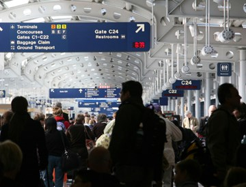 Many Would-Be Travelers Stuck At Home