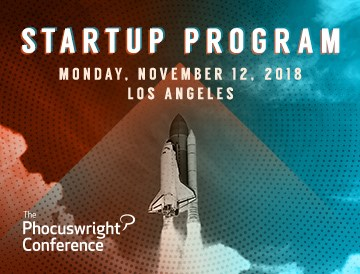 Startup Program at The Phocuswright Conference