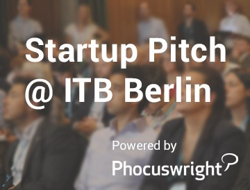 ITB Startup Pitch Powered by Phocuswright