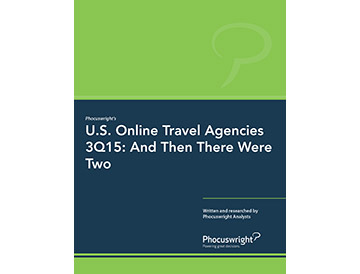 U.S. Online Travel Agencies 3Q15: And Then There Were Two