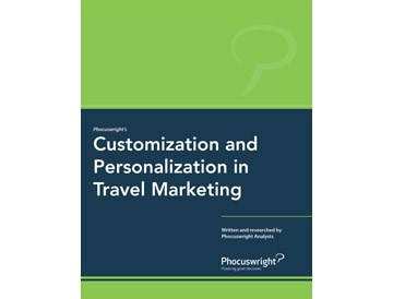 Customization and Personalization in Travel Marketing