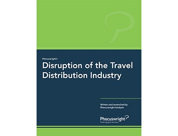 Disruption of the Travel Distribution Industry