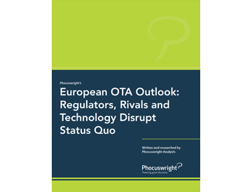 European OTA Outlook: Regulators, Rivals and Technology Disrupt Status Quo