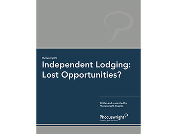 Independent Lodging: Lost Opportunities?