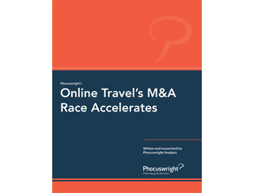 Online Travel's M&A Race Accelerates