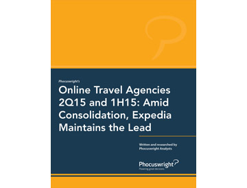 Online Travel Agencies 2Q15 and 1H15: Amid Consolidation, Expedia Maintains the Lead