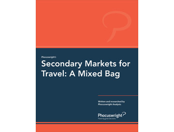 Secondary Markets for Travel: A Mixed Bag