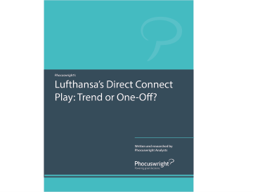 Lufthansa's Direct Connect Play: Trend or One-Off?