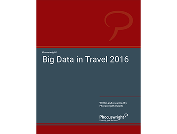 Big Data in Travel 2016