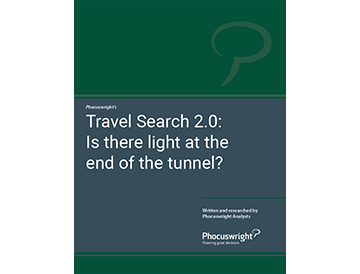 Travel Search 2.0: Is There Light at the End of the Tunnel?