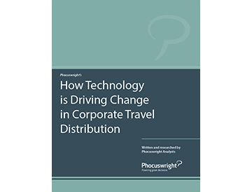 How Technology is Driving Change in Corporate Travel Distribution