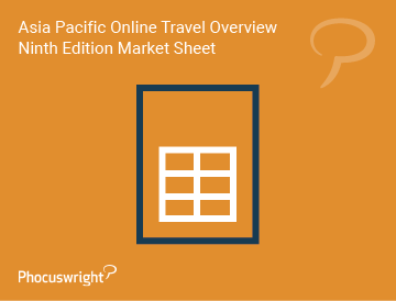 Asia Pacific Online Travel Overview Ninth Edition Market Sheet
