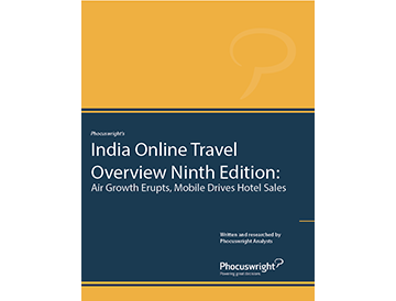 India Online Travel Overview Ninth Edition: Air Growth Erupts, Mobile Drives Hotel Sales