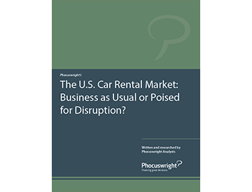 The U.S. Car Rental Market: Business as Usual or Poised for Disruption?