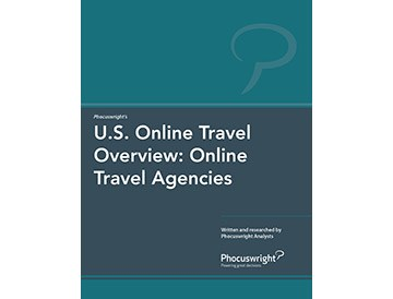 travel agency research Our travel market research revealed that, in the us, there were up to 65%  more  than a quarter (28%) of bookings via online travel agencies.
