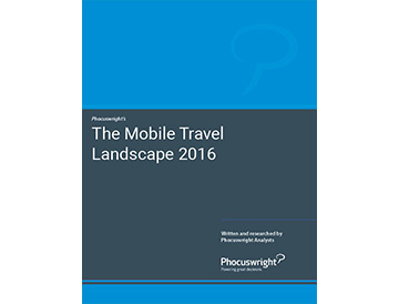 The Mobile Travel Landscape 2016