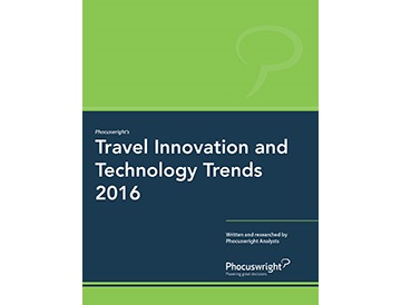 Travel Innovation and Technology Trends 2016