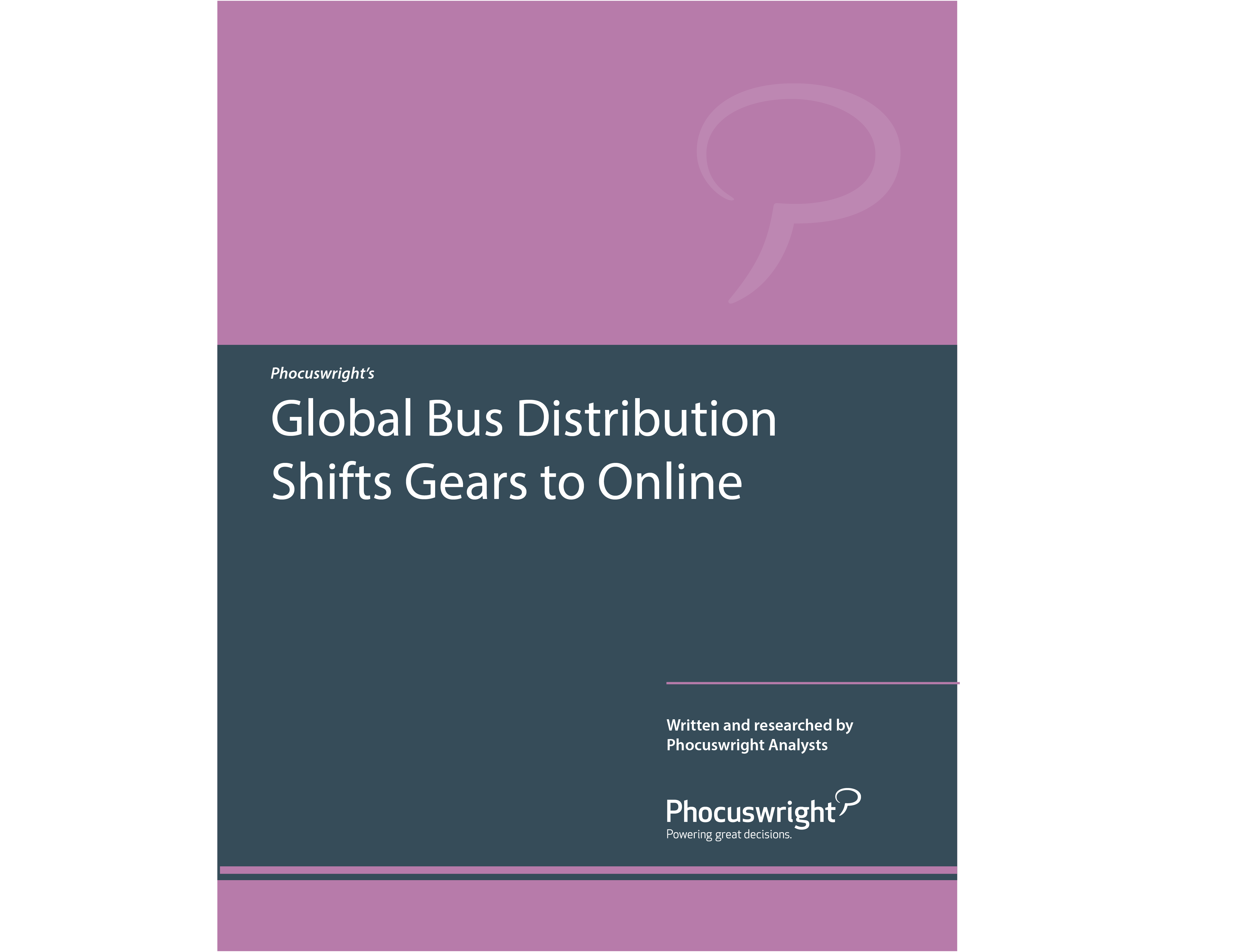 Global Bus Distribution Shifts Gears to Online