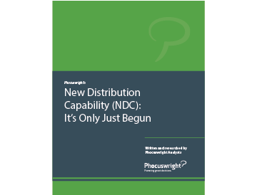 New Distribution Capability (NDC): It's Only Just Begun