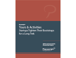 Tours & Activities: Startups Tighten Their Bootstraps