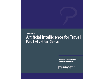 Artificial Intelligence for Travel