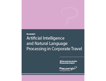 Artificial Intelligence and Natural Language Processing in Corporate Travel