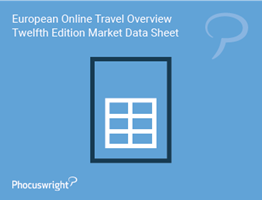 European Online Travel Overview Twelfth Edition Market Sheet