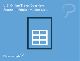 U.S. Online Travel Overview Sixteenth Edition Market Sheet