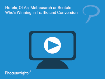 Hotels, OTAs, Metasearch or Rentals: Who's Winning in Traffic and Conversion