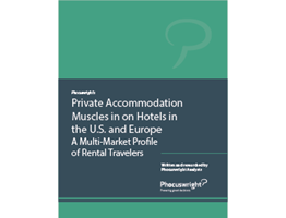 Private Accommodation Muscles in on Hotels in the U.S. and Europe