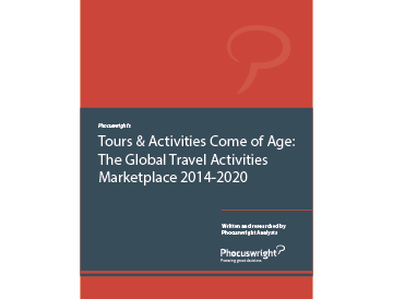 Tours & Activities Come of Age: Global Travel Activities Marketplace 2014-2020