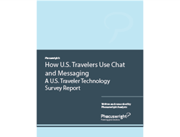 How U.S. Travelers Use Chat and Messaging