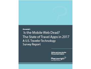 Is the Mobile Web Dead? The State of Travel Apps in 2017