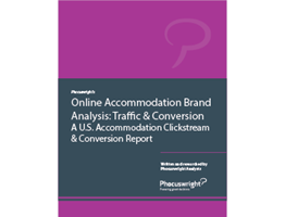 Online Accommodation Brand Analysis: Traffic & Conversion