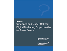Untapped and Under-Utilized Digital Marketing Opportunities for Travel Brands