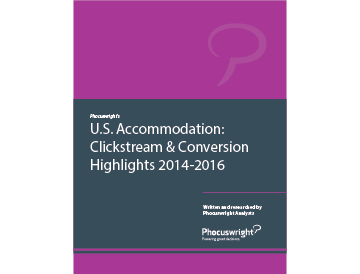 U.S. Accommodation: Clickstream & Conversion Highlights 2014-2016