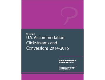 U.S. Accommodation: Clickstreams and Conversions 2014-2016