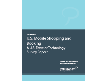 U.S. Mobile Shopping and Booking
