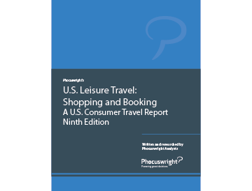 U.S. Leisure Travel: Shopping and Booking