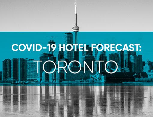 COVID-19 Hotel Forecast: Toronto