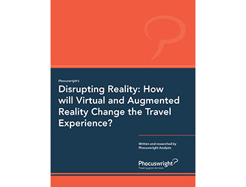 Disrupting Reality: How will Virtual and Augmented Reality Change the Travel Experience?