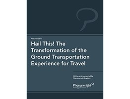 Hail This! The Transformation of the Ground Transportation Experience for Travel