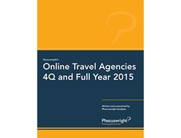 Online Travel Agencies 4Q and Full Year 2015: Mergers and Acquisitions Reshape the Market