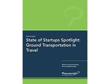 State of Startups Spotlight: Ground Transportation in Travel