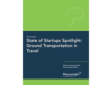 State of Startups Spotlight: Ground Transportation in Travel