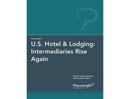 U.S. Hotel & Lodging: Intermediaries Rise Again