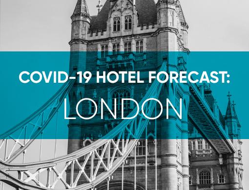 COVID-19 Hotel Forecast: London