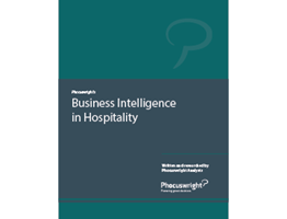 Business Intelligence in Hospitality