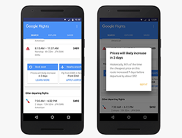 Google Pushes Predictive Pricing and Packaged Travel